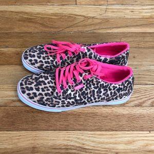 86399edb6e6be2 Women s Hot Pink Vans Shoes on Poshmark